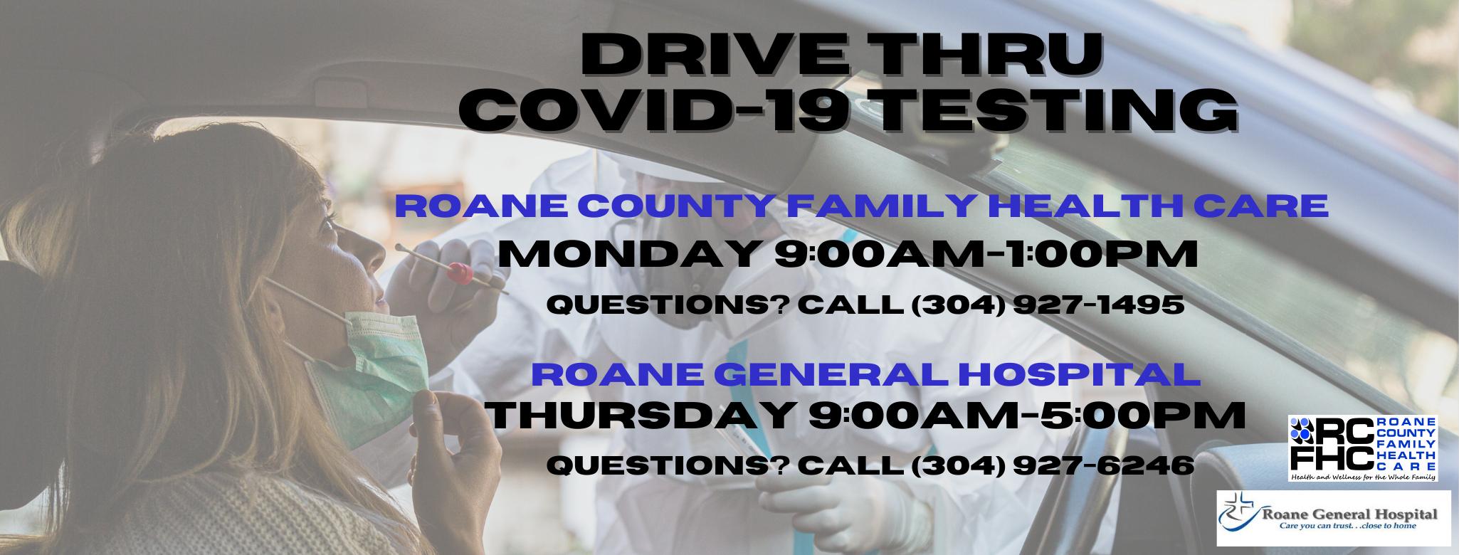 COVID-19 Testing and Flu Shots